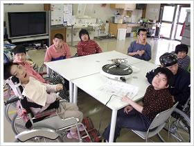 重度障害者生活訓練ホーム 生活介護・単位2